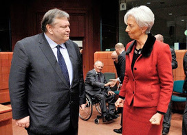 The Macedonian Tendency: A Distraught Lagarde waits for Venizelos to Call | The Macedonian Tendency | Scoop.it