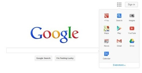 Google Testing Android/Chromebook-Like Navigation Element For Web Site | Search Engine Marketing Trends | Scoop.it