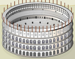 BBC - History - The Colosseum: Building the Arena of Death | History, Geography and new technologies | Scoop.it