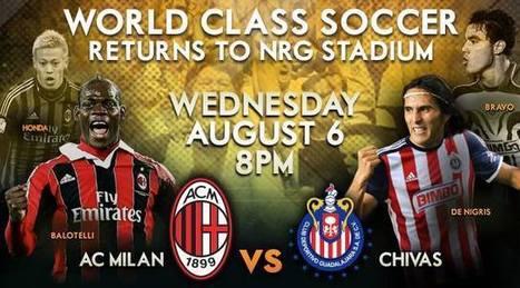Chivas Guadalajara vs AC Milan-LIVE ON HD TV- - Sport-Tv | jak111 | Scoop.it