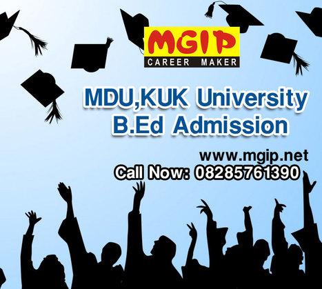 MDU,KUK University B.Ed Duration, Fees, Eligibility 2014 | MDU B.Ed Admission Updates 2014-15 | Scoop.it
