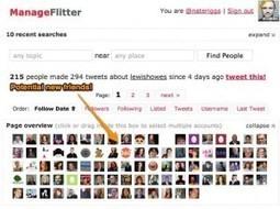 ManageFlitter. Mieux gérer et développer sa communauté sur Twitter. | Les outils du Web 2.0 | Scoop.it