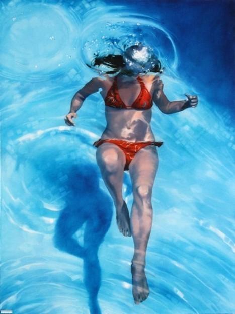 Sarah Harvey's Eerily Realistic Underwater Images   Strange days indeed...   Scoop.it