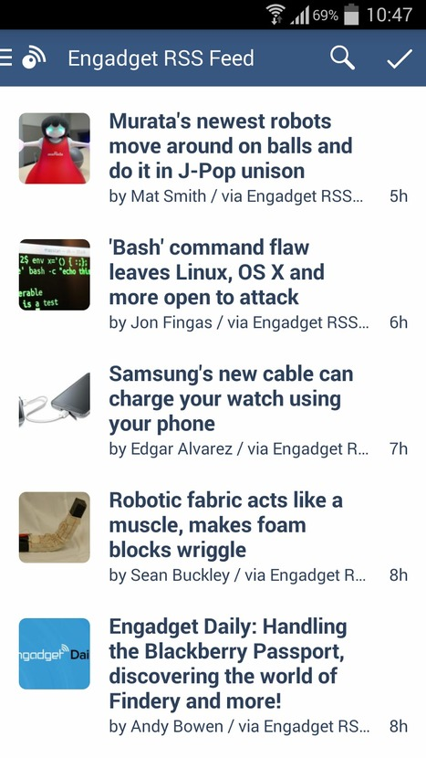 Inoreader 2.0 for Android released - a complete visual update | RSS Circus : veille stratégique, intelligence économique, curation, publication, Web 2.0 | Scoop.it