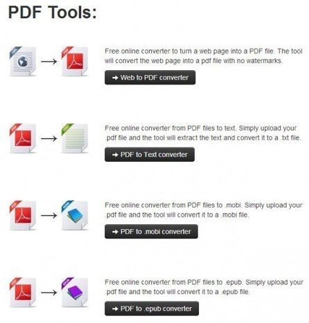 Un outil en ligne de conversion PDF, KitPDF | Ballajack | Geeks | Scoop.it