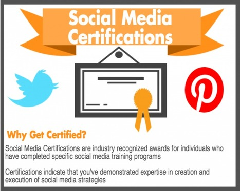 6 Things To Look For In A Social Media Certification Program | Social Media Training & Certifications | Scoop.it