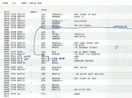 Apple II DOS source code | Computer History Museum | << nekoj stvari | | Scoop.it