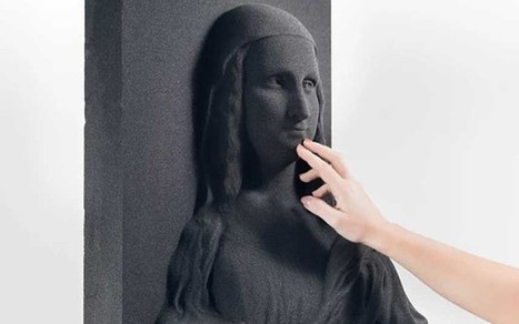 Classic artworks recreated as 3D sculptures - so blind people can experience them | Research_topic | Scoop.it