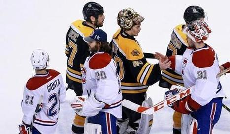 Milan Lucic, Dale Weise in spat over handshake - Boston Globe | Sports | Scoop.it