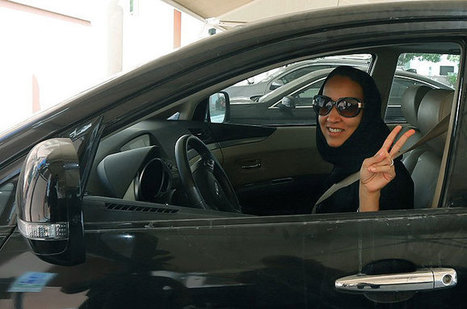 Saudi women defy driving ban across country | AP Human Geography Herm | Scoop.it