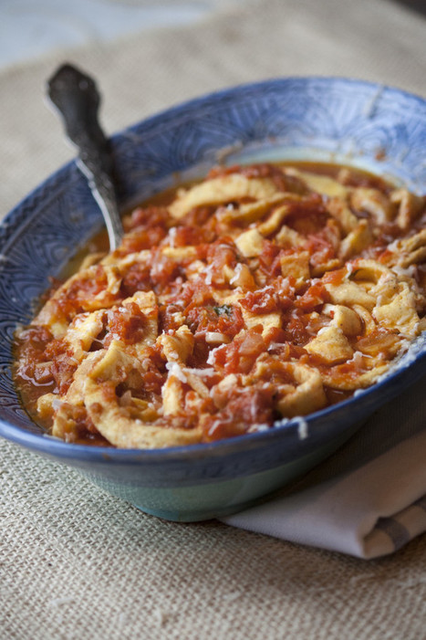 Frittata in Trippa - Fake Tripe Recipe | Le Marche and Food | Scoop.it