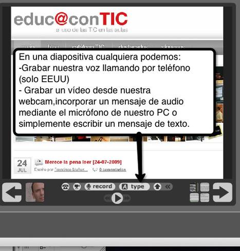 Conversaciones colaborativas multimedia con VoiceThread   Nuevas tecnologías aplicadas a la educación   Educa con TIC   Tutoriales - Herramientas para la educación 2.0   Scoop.it