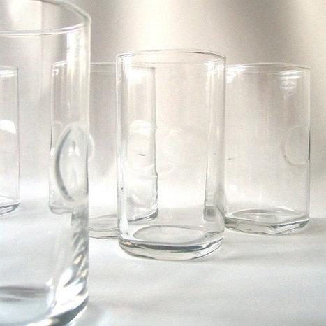 vintage clear glassware | Cristaleria tavo | Scoop.it