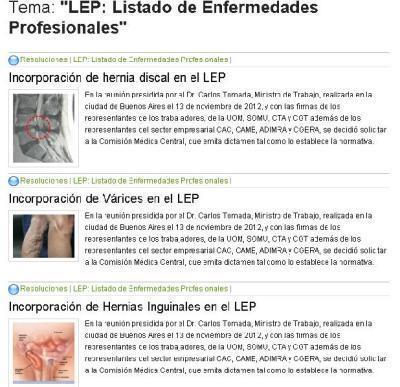 LISTADO de ENFERMEDADESPROFESIONALES | Higiene y Seguridad Laboral | Scoop.it