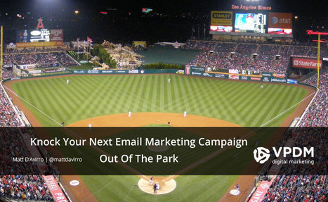 Make Your Email Marketing List and Strategy a Home Run | Content Marketing | Scoop.it