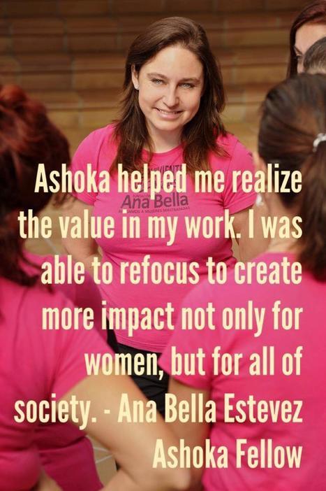 INVEST IN INNOVATION: Support Ana Bella Estevez to stamp out gender based violence | Women Trailblazers | Scoop.it