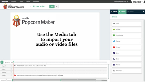 iLearn Technology » Blog Archive » Popcorn Maker: Mashup video with images, articles, text, maps, etc. | Edtech PK-12 | Scoop.it