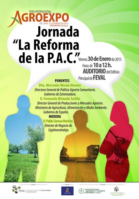 "Jornada ""La Reforma de la PAC""   Agroexpo   Scoop.it"