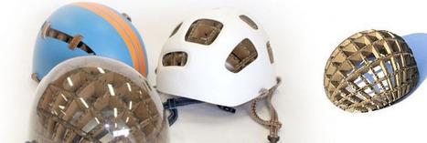 Kranium : un casque à vélo en carton qui protège des chutes ! | Vous avez dit Innovation ? | Scoop.it
