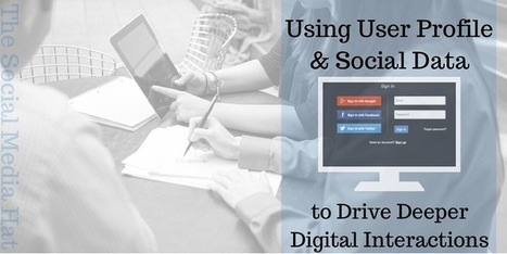 Using User Profile & Social Data to Drive Deeper Digital Interactions   The Content Marketing Hat   Scoop.it