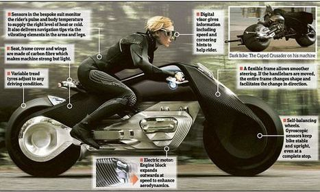 BMW presents its self-balancing bike that needs no helmet | Management - Innovation -Technology and beyond | Scoop.it