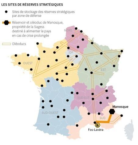 Quatre cartes pour comprendre la crise du carburant (Le Monde) | Géographie des conflits | Scoop.it