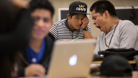 Nearly 1 in 4 students at this L.A. high school migrated from Central America — many without their parents | enjoy yourself | Scoop.it