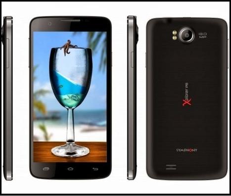 Symphony Xplorer P8 Android Phone Price & Full Specifications ~ Tech Shout | Tech Shout | Scoop.it