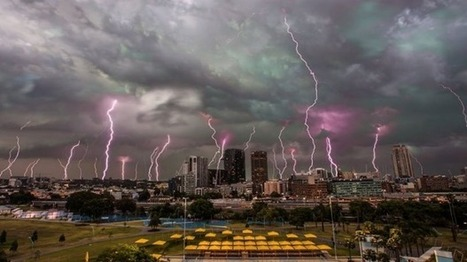 Incredible multiple exposure photo of this week's Sydney storms | sustainability | Scoop.it