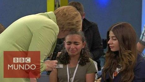La respuesta de Angela Merkel a una niña palestina   Política & Rock'n'Roll   Scoop.it