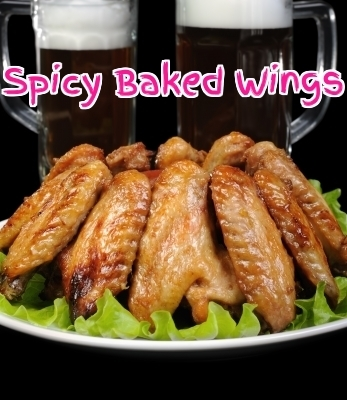Baked Chicken Wings with Paprika and Cayenne | Best Easy Recipes | Scoop.it