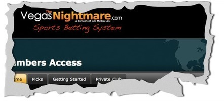 The Vegas Nightmare Review – The Vegas Nightmare Sports Betting System | Sports items online in India | Scoop.it