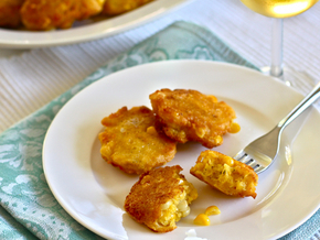 Corn Cheddar Fritters | Foodies | Scoop.it