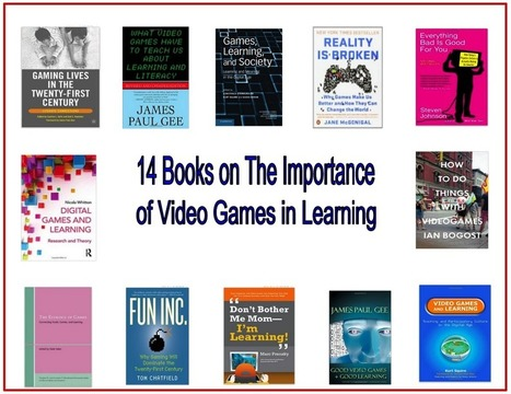14 Great Books on The Importance of Video Games in 21st Century Learning ~ Educational Technology and Mobile Learning | Games and education | Scoop.it