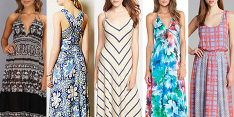 Best Printed Maxi Dresses: Get Ready For Summer With These Flowing Frocks - Huffington Post | fashion | Scoop.it