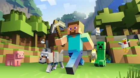 Five 'Minecraft' Books To Explain Obsession And Inspire Education | The World of Minecraft | Scoop.it