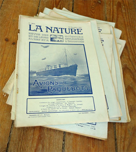 Le Blogue antiquités: La Nature, revue des sciences et de leurs applications aux arts et à l'industrie | GenealoNet | Scoop.it