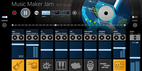 Easy Music Creation with Music Maker Jam | ntg | Scoop.it