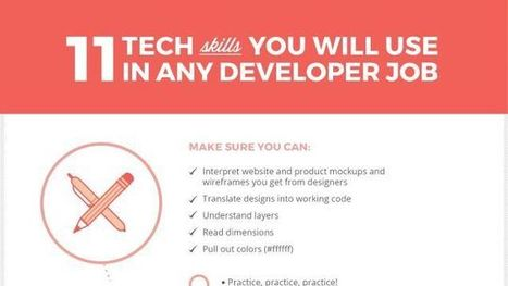 11 Essential Tech Skills You Need to Get Hired as a Web Developer | Bazaar | Scoop.it