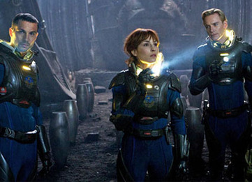 Movie Review: Prometheus Packed With Great Acting, Big Ideas—and Monsters! - E! Online | Prometheus Movie | Scoop.it