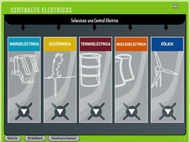RECURSOS INTERACTIVOS EN FLASH: CENTRALES ELECTRICAS | Infraestructura Sostenible | Scoop.it