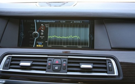 Cars that can monitor your health | Salud Publica | Scoop.it