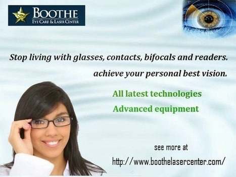Know more About Lasik Procedure | BOOTHE EYE CARE & LASER CENTER | Scoop.it