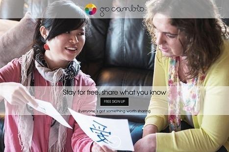 GoCambio : séjourner gratuitement à l'étranger contre des cours de langue   Efficycle   Scoop.it
