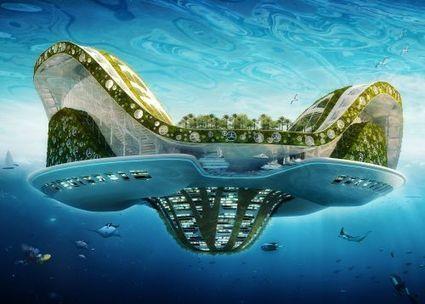 Chronique du futur : les cités bioniques de Vincent Callebaut   Villes en mutation, BTS I   Scoop.it