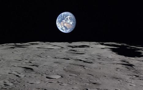 Πως φαίνεται η Γη από την τροχιά της Σελήνης | e-ΦΥΣΙΚΗ | Scoop.it