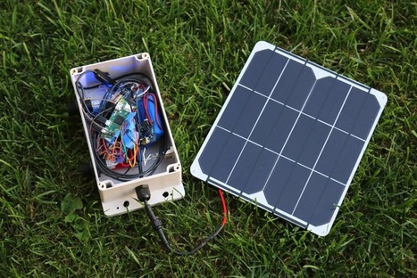 How to Make a Solar Powered Weather Station #piday #raspberrypi @Raspberry_Pi | Raspberry Pi | Scoop.it