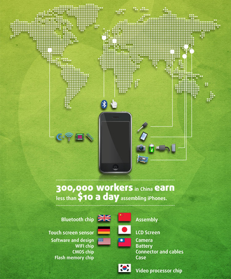 How Green is the iPhone? | green infographics | Scoop.it
