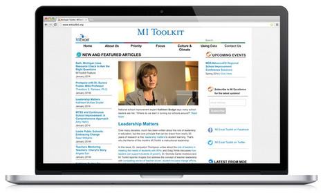 K-12 Outreach Creates Online School Improvement Resource - New Educator - College of Education - Michigan State University | Michigan K12 Education | Scoop.it