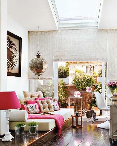 Downtown Madrid Apartment Beckons You Home - Enpundit | Designing Interiors | Scoop.it